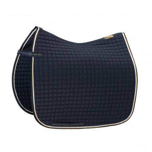 eskadron-cotton-saddle-pad-navy/red-binding