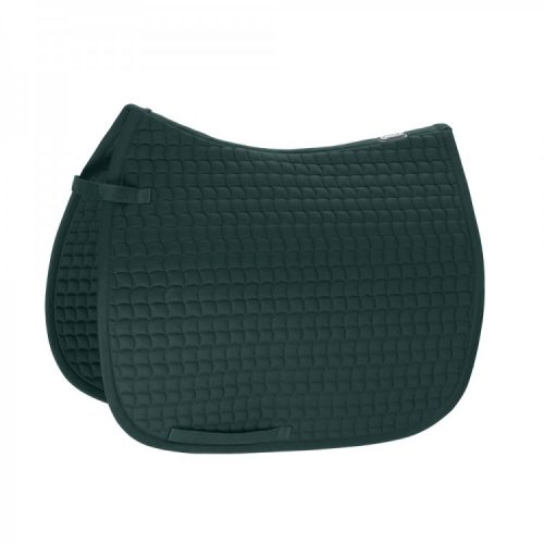 eskadron-cotton-saddle-pad-racing-green