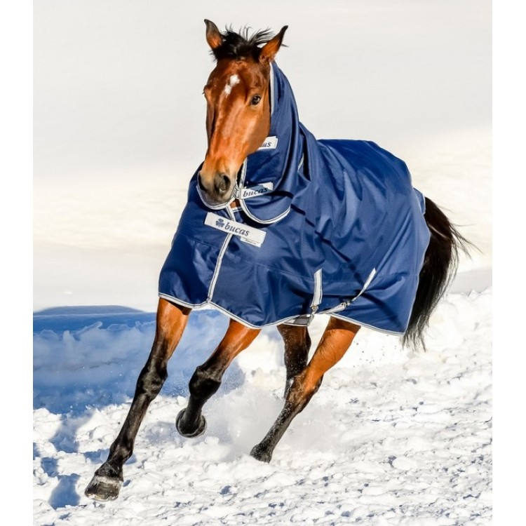 Bucas Freedom Turnout Fixed Neck 300g Navy