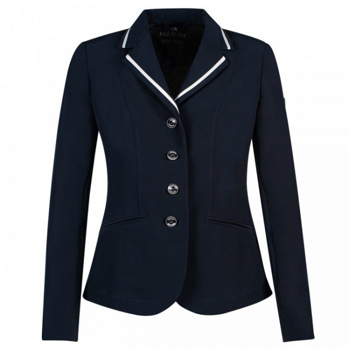Equiline Howlite Womens Competition Jacket Blue